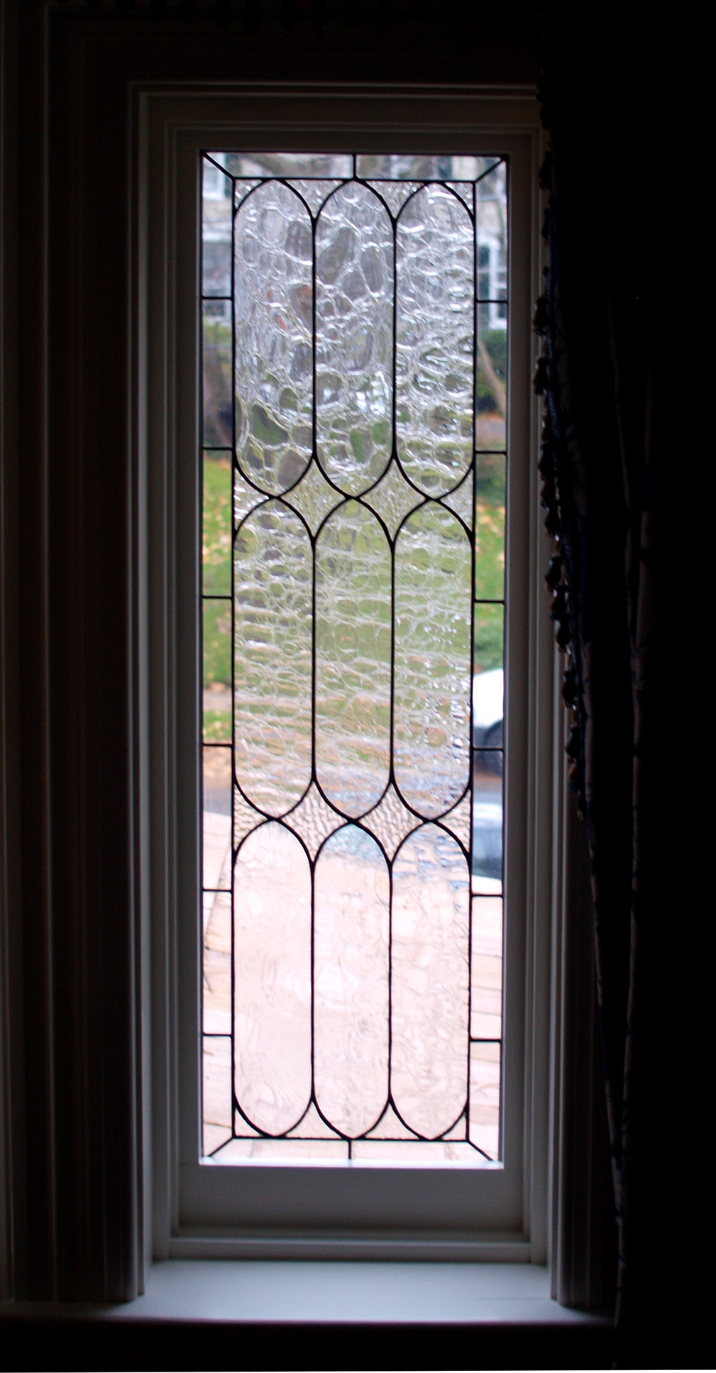 Clear Glass Windows : Stained glass
